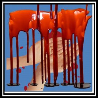 There is Blood on Trump's hands again! When will he pay for all the Crimes and Lives lost from his hate?