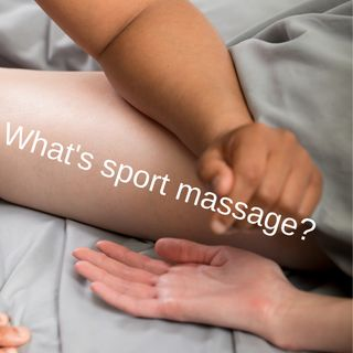 Episode 5: what's sport massage?
