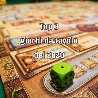 Top 3 giochi da tavolo del 2020