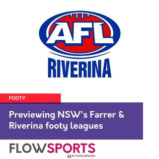 Wayne 'the Flowman' Phillips previews @AFLRiverina round 5 and Farrer round 6 footy in NSW this weekend