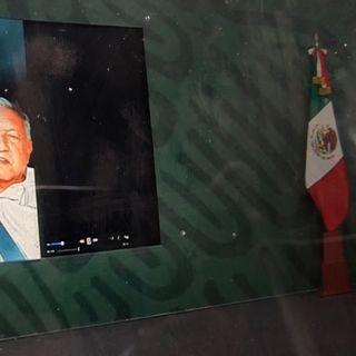 Bloquean mañanera de AMLO en Chiapas