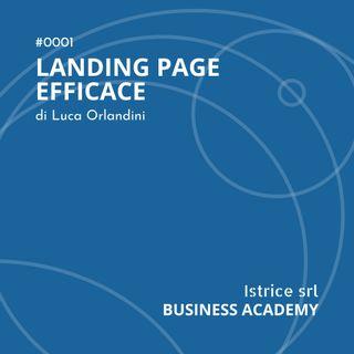recensione - landing page efficace di Luca Orlandini