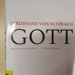 7.4. Ferdinand von Schirach: Gott - ein Theaterstück (Kerstin Morgenstern)