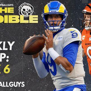 The Audible - Week 6 RECAP - Fantasy Football 2021