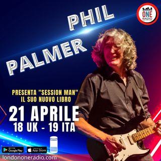 """Phil Palmer presenta """"Session Man"""" la sua autobiografia"""