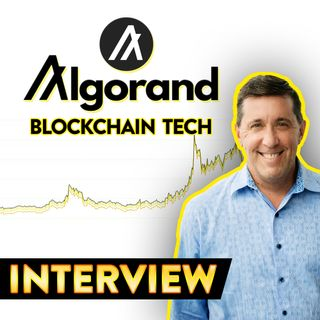 77. Algorand Interview | The Future of Finance  ALGO 📈
