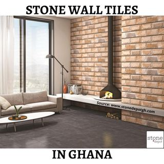 Stone Wall Tiles in Ghana