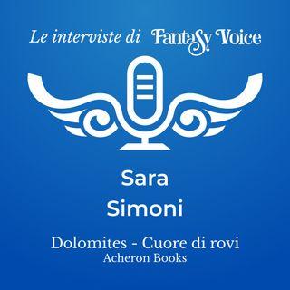 Sara Simoni: intervista su Dolomites Cuore di Rovi