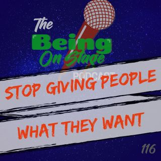 Stop Giving People What They Want