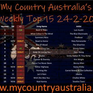 My Country Australia Weekending Friday 28 2020