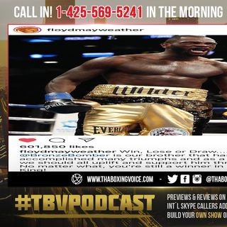 ☎️Deontay Wilder NO Longer A Threat to Floyd Mayweather😱Finally Shows Support After First Loss❓