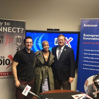 Richard Phillips with J. Mack Robinson College of Business at GSU, Luis E. Ferrer-Labarca with BitCraft and Jeanine McDonald with Suzi Soma