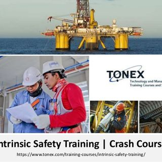 Intrinsic Safety Training - 3 Day Course by Tonex