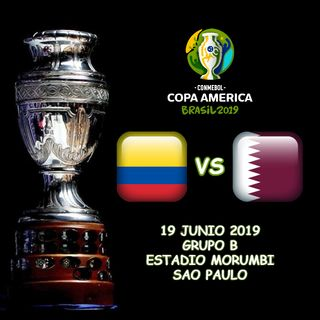 Colombia vs Catar en VIVO