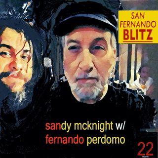 Musician Sandy McKnight - San Fernando Blitz EP