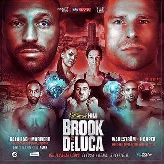 Kell Brook vs Mark DeLuca Alternative Commentary
