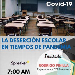 La Deserción Escolar en Tiempos de Pandemia