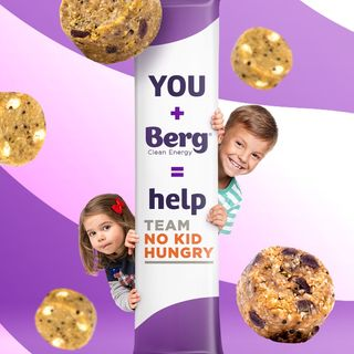 Berg Bites Donates 100% to No Kid Hungry