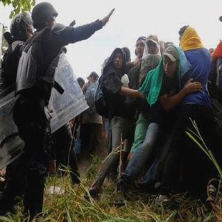 Frenan a migrantes en Chiapas