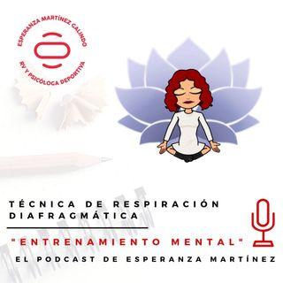 032. Técnica de respiración diafragmática