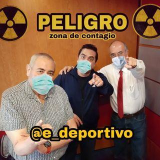 Zona de Peligro, Zona contagiosa de buen humor en Espacio Deportivo de la Tarde 18 de Marzo 2020