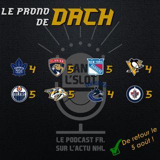 Playoffs NHL 2020 - Les pronos de Dach (Tour de qualification)