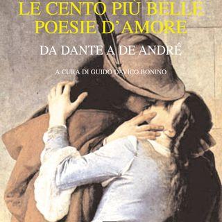 """Guido Davico Bonino """"Le cento più belle poesie d'amore"""""""
