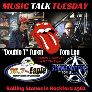 (Music Talk Tuesday 47): Rolling Stones in Rockford 1981