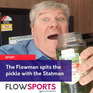 AFL preview as the Flowman spits the pickle juice over the dills at the AFL saying no wrecking the grass with your saliva
