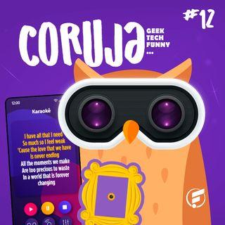 Coruja POP #12 Aprimorando um novo idioma com a cultura pop!