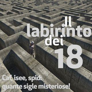 Il labirinto dei 18, puntata 7. Caf, isee, spid: quante sigle misteriose!