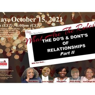 Matters Of The Heart:  Do's and Dont's of Relationship Panel Discussions pt 2