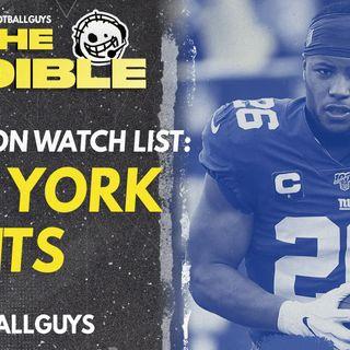 2021 Fantasy Football - New York Giants Preseason Watch List