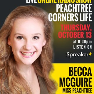 Miss Peachtree Corners Teen Becca McGuire