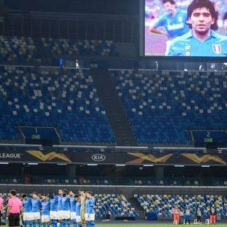 Europa League: tutti per Diego, il Napoli lo onora. Roma già qualificata, pari Milan