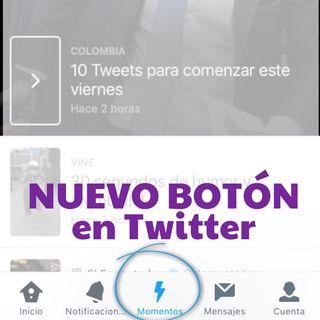 Nuevo botón en Twitter (con @kamiloshow)