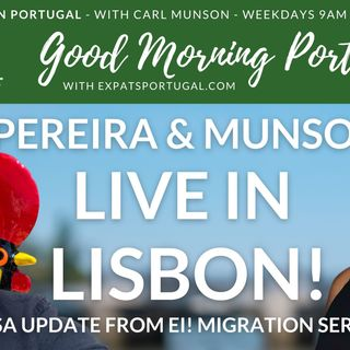 Portuguese visa & migration update with Gilda Pereira | On Good Morning Portugal!