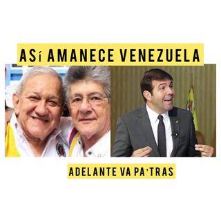 ADelante va pa'tras Escuche Así amanece Venezuela martes #20Jul 2021
