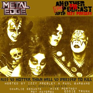 METAL EDGE PRESENTS CHARLIE BENANTE MIKE PORTNOY ROY MAYORGA EDDIE TRUNK DEBATING THE KISS ORIGINALS