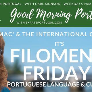 'Filomena Friday' on Good Morning Portugal! & Mac's International Club (& motorcycling in Portugal)