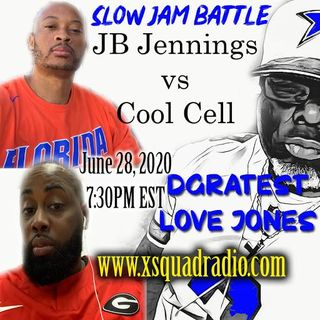Sunday Night Love Jones Presents: The Battle of The Slow Jams Part 6 : JB Jennings (Florida Gators) vs Cool Cell (Georgia Bulldogs)