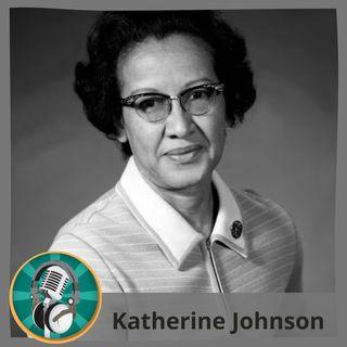 Arianna con Katherine Johnson