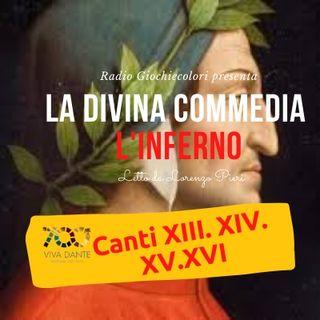 05 - Inferno (Divina Commedia - Dante Alighieri) Canti 13-14-15-16