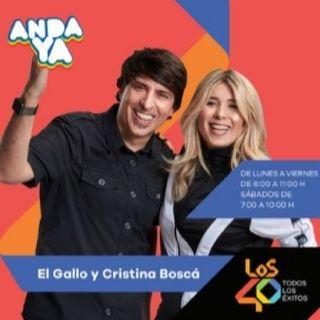 Anda Ya Con El Gallo Y Cristina Boscá