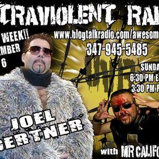 Joel Gertner LIVE on Ultraviolent Radio