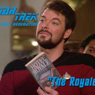 "Season 5, Episode 8 ""The Royale"" (TNG) with Alison Pitt"