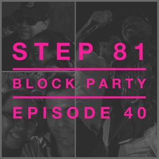 NKOTB Block Party #44 - NKOTB Fan Stories From Our Friends Angelica, Judy, Anonymous, Angie, Christina, Mariah, Cedric, and so many tangents