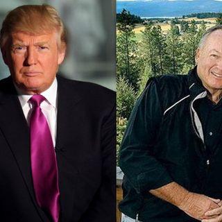 President Donald Trump, Major General Paul Vallely & PPD Editor Richard Baris