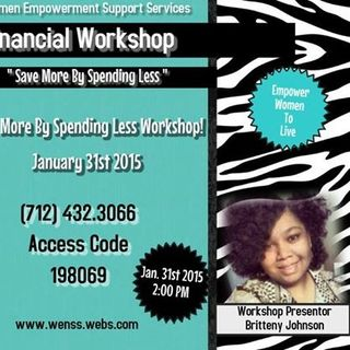 WomenSupportiveServices FinancalWorkshop