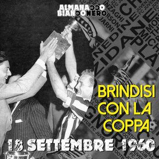 18 settembre 1960 - Brindisi con la coppa